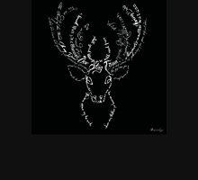 Deer stag antlers typographic Unisex T-Shirt