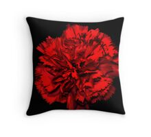 The Carnation Throw Pillow