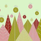 Ornaments and Trees by Hena Tayeb