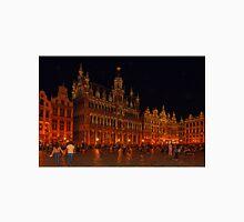 Grand Place at Night, Brussels, Belgium Unisex T-Shirt
