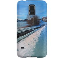The end of the railroad II | landscape photography Samsung Galaxy Case/Skin