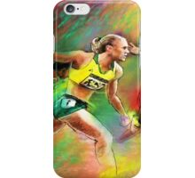 Olympics 100 metres hurdles Sally Pearson iPhone Case/Skin