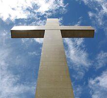 Mt Macedon Cross by Natalie Buxton