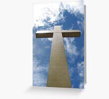 Mt Macedon Cross Greeting Card