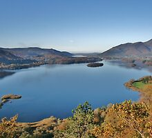 Derwent Water From Surprise View - Lake District by Rod Unwin