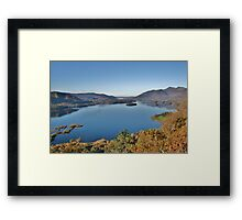 Derwent Water From Surprise View - Lake District Framed Print