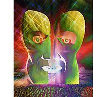 Pink Floyd Metal Heads Photographic Print