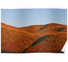 Martian Landscape - Lake District Poster