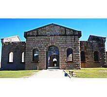 Trial Bay Gaol Photographic Print