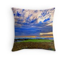 Spray Point Throw Pillow