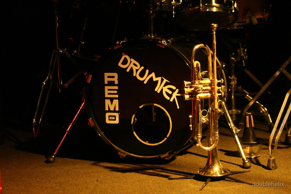 brass, drums and jazz by James Price