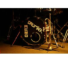 brass, drums and jazz Photographic Print
