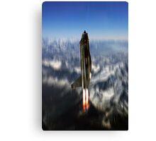Lightning Missile Canvas Print
