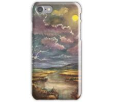 Guided by the Moon iPhone Case/Skin
