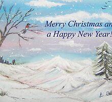 Winter Wonderland Card by © Linda Callaghan