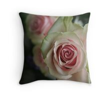 """gentle on my mind"" Throw Pillow"