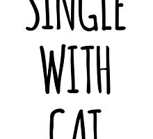 Single with cat, by beakraus