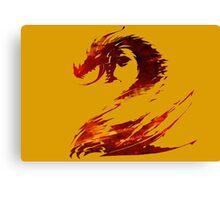 Guild Wars 2 - Strikes again Canvas Print