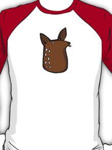 Licky Deer Head T-Shirt