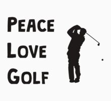 Peace Love Golf Kids Clothes