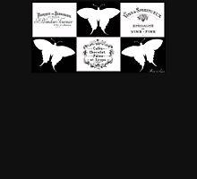 Vintage French butterflies label Unisex T-Shirt