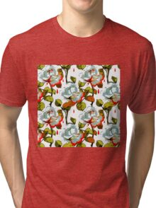 Blood soaked Rose. Tri-blend T-Shirt