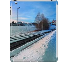 The end of the railroad II | landscape photography iPad Case/Skin
