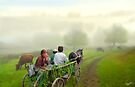 One Morning Ride by Igor Zenin