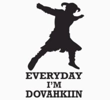 Every day i'm dovahkiin by garcilasooxd