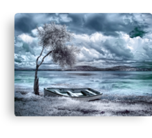 Valium Skies Canvas Print