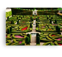 Jardin d'Amour - Villandry Canvas Print