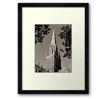 St.Patricks cathedral spire Framed Print