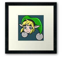 the Tri-force hero Framed Print