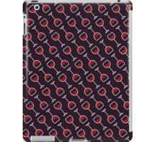 Wine Pattern - Drinks Series iPad Case/Skin