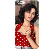 Vintage Woman iPhone Case/Skin
