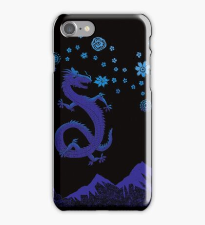 Northern Lights Dragon iPhone Case/Skin