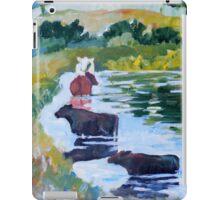 Cows on Linden Pond iPad Case/Skin
