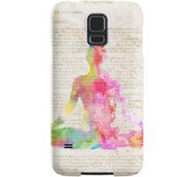 Yoga book Samsung Galaxy Case/Skin