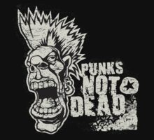 Punk's Not Dead by iRoN Design