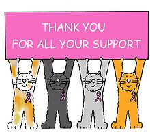 Thank you for all your support, breast cancer kittens. by KateTaylor