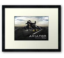 Dassault Rafale Fighter Jet Framed Print