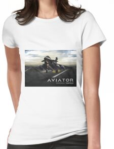 Dassault Rafale Fighter Jet Womens Fitted T-Shirt