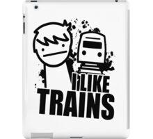 I Like Trains! iPad Case/Skin