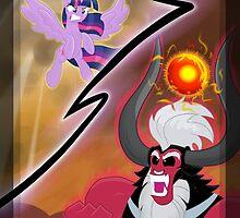 Twilight Sparkle vs. Tirek by Flutterbat