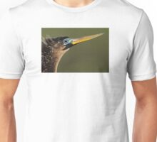 Anhinga Portrait Unisex T-Shirt