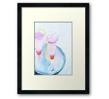 soft cocktail Framed Print