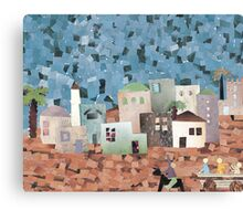 kids going home Canvas Print