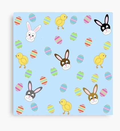Easter Eggs-travaganza Canvas Print