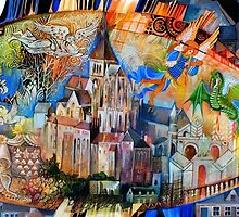 Mont Saint Michel by oxana zaika