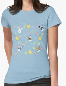 Easter Eggs-travaganza Womens Fitted T-Shirt